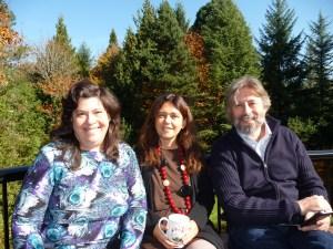 2013-10-19 Phyllis, Paola Girardi & Raffaele Trevisani