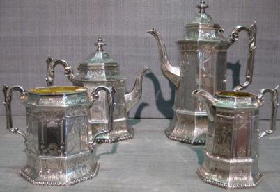 English Sterling Tea and Coffee Service