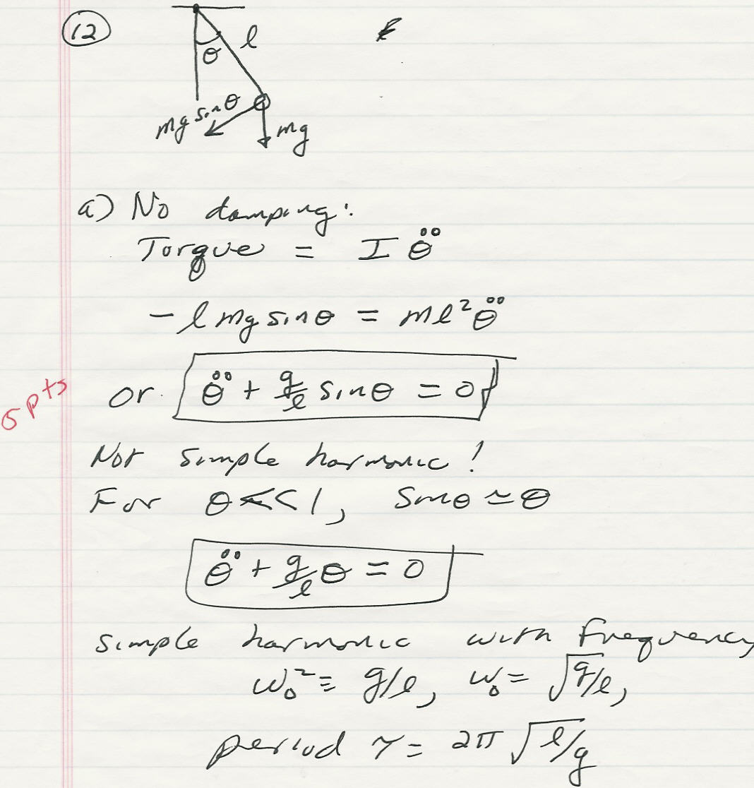 Physics 4304 Homework