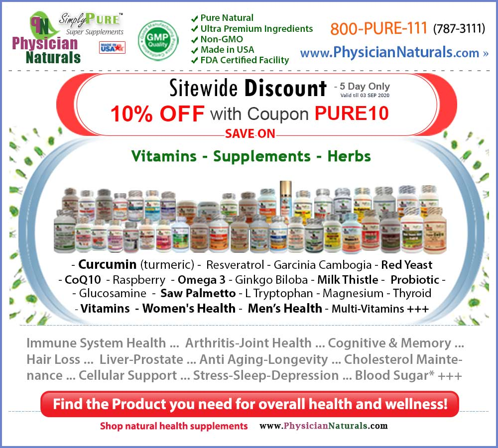 Immune Support Vitamins & Herbal Supplements Sales