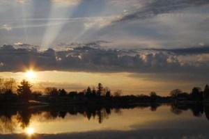 Cheboygan River Sunset