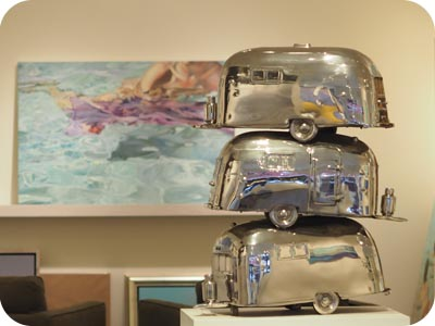 airstream sculpture