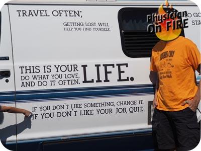 Motivational Van
