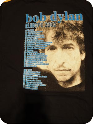 Bob Dylan European Tour 2002