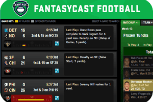 Espn fantasycast football