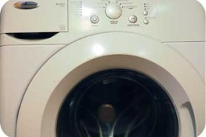 amana front loading washer