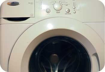 amana front loading washer