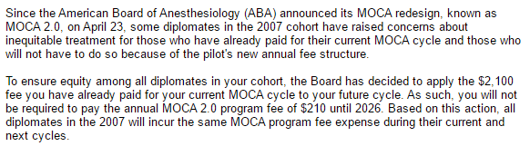 My MOC Debacle: Nevermind That $2,100 Exam You Just Passed