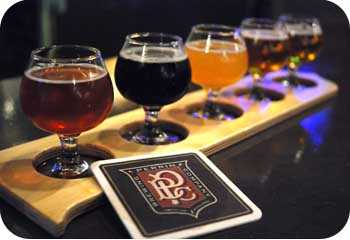 Perrin Brewing Flight