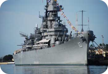 Pearl Harbor Battle Ship