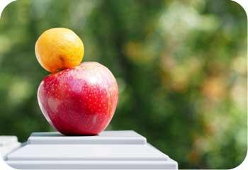 compare apple orange