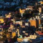 late evening in Guanajuato