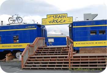 Train Wreck Alaska