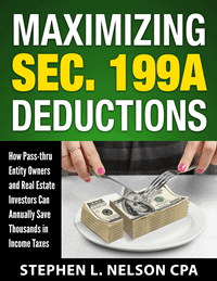 Maximizing 199A deduction