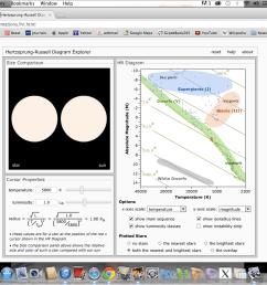 hr diagram h h diagram hr diagrams in celsius [ 1440 x 900 Pixel ]