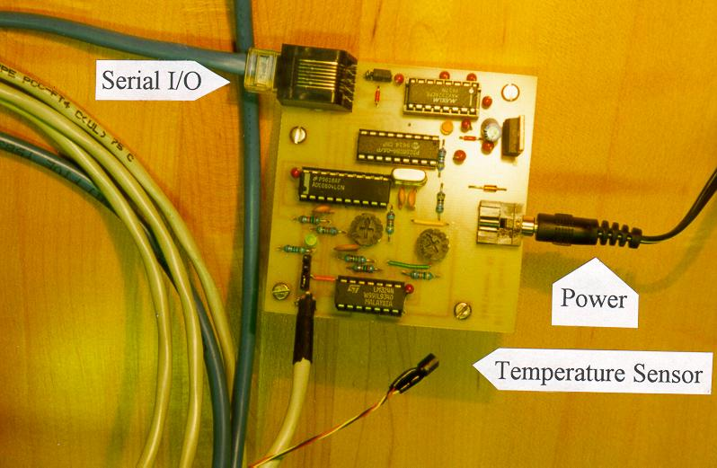 Pic16f84 And Ds1621 Temperature Control Circuit Temp Control Circuit