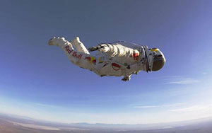 space diving