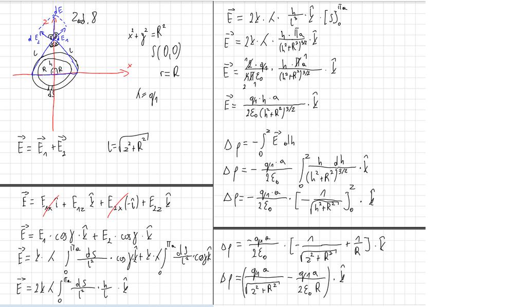 Electrostatics: Calculate the Electric Field near a