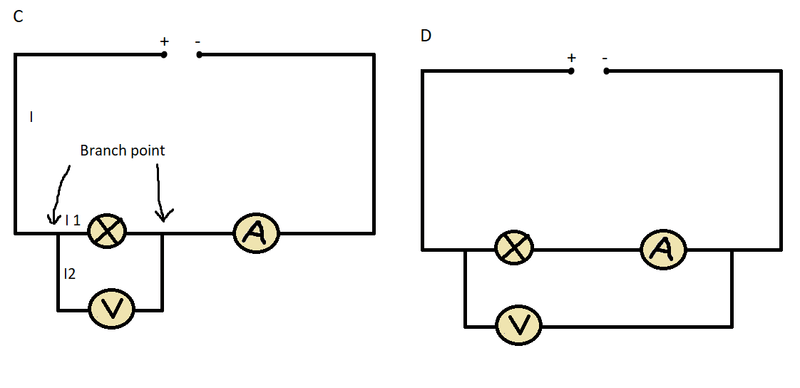 Why you can't measure voltage and current at the same time