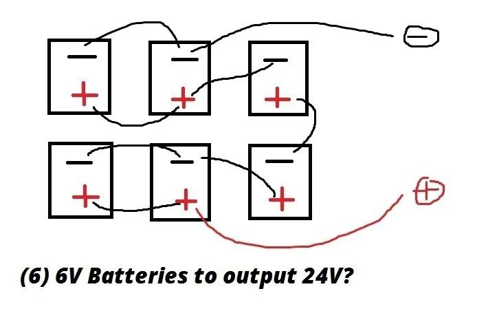 can you wire batteries in series and parallel wiring