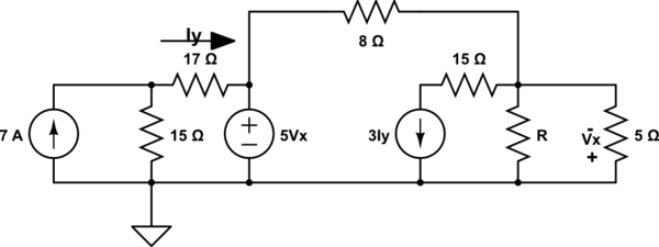Help me finding the current in here please (Circuit
