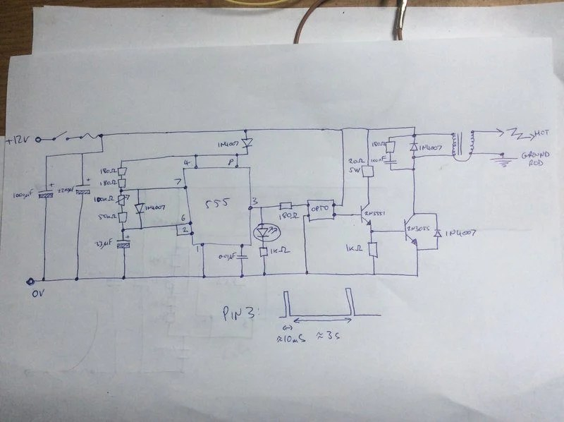 Domestic Electric Fence Wiring Diagram