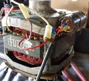 Determining correct wiring for an old washing machine motor   Physics Forums