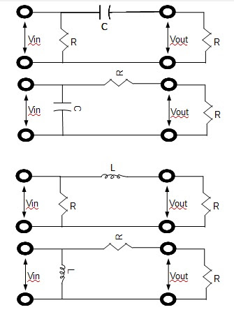 Do capacitors block unwanted ac frequencies in the wires