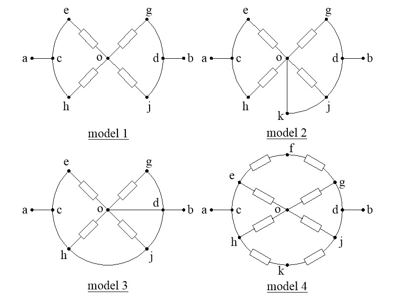 How can I represent these resistances on a diagram