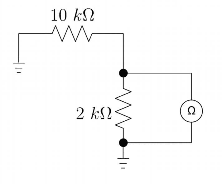 Measure Resistor Circuit