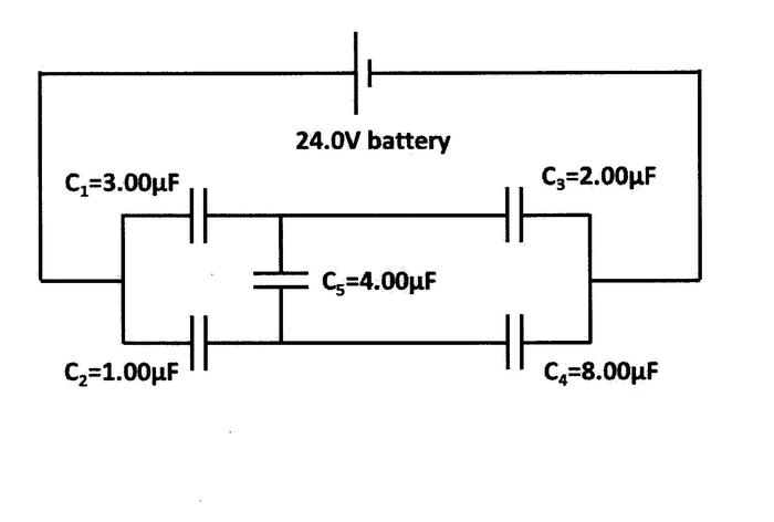 Voltage of a Capacitor using Kirchhoff's Loop Rule