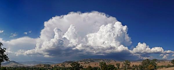 Cumulu Cumulonimbus Clouds
