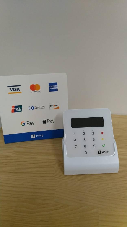Kartenzahlung möglich – ab sofort