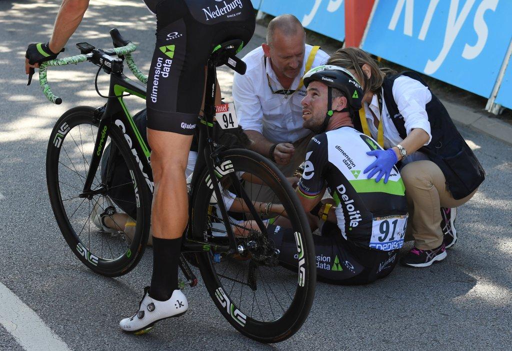 Cycling Injuries Crash