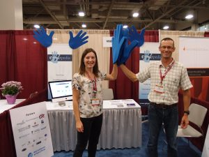 Rachael Lowe and Tony Lowe, Physiopedia Co-Founders