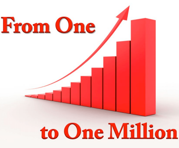 from on to one million