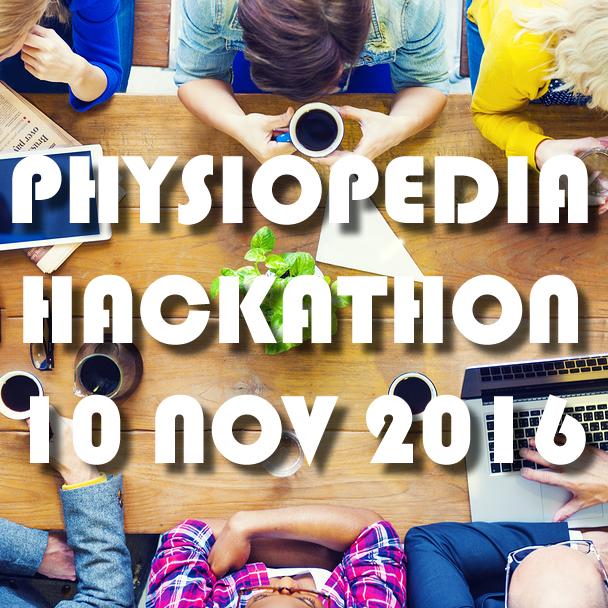 Physiopedia Hackathon 2016 square