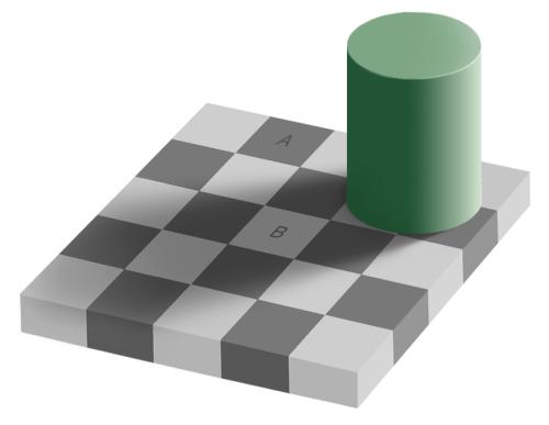 有趣的颜色错觉