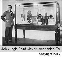 Baird and his mechanical television