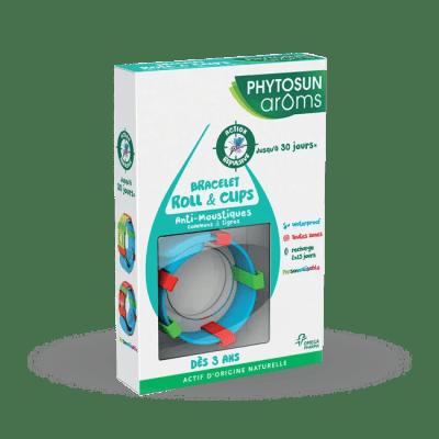 Bracelet roll & clips anti-moustiques