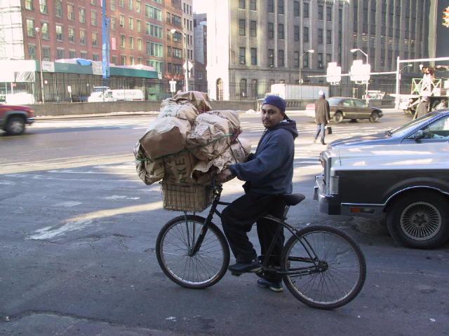 Wie fährt das Fahrrad?
