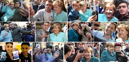 Bildergebnis für merkel selfies