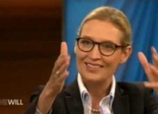 """Überzeugte bei """"Anne Will"""": AfD-Spitzenkandidatin Alice Weidel."""