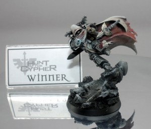 Winner - Zheng Han John's magnificent Cypher sculpt impressed our judges.