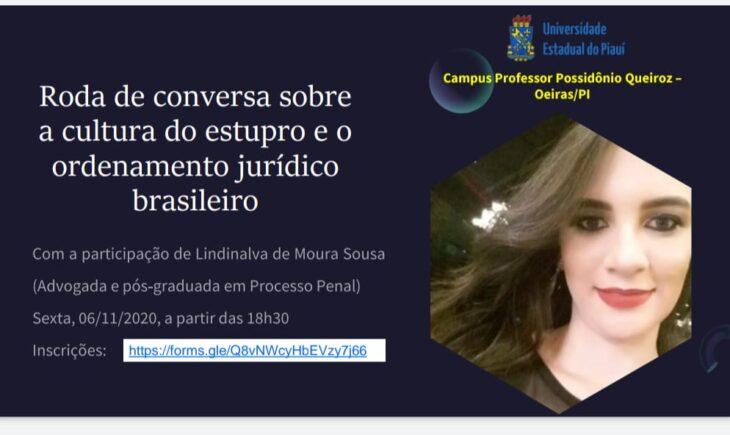A 2 Grupo de mulheres do campus de Oeiras promove evento para discutir sobre a cultura do estupro