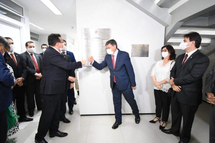 WhatsApp Image 2020 11 23 at 11.06.31 Governador participa da inauguração do Fórum e Juizado em Picos