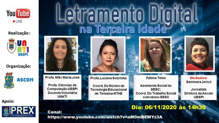 a UNATI realiza curso de Letramento Digital