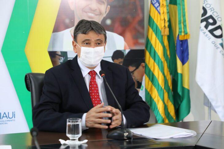 live vacina Wellington Dias descarta lockdown e apresenta plano para vacinação contra a Covid