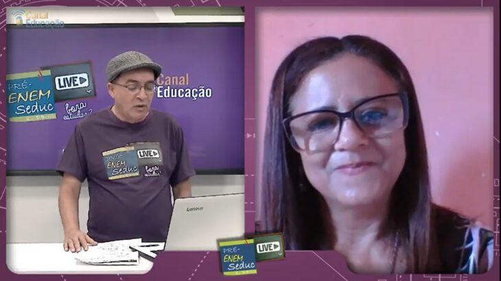 revi4 Pré-Enem Live revisa Redação, Matemática, Linguagens e Química