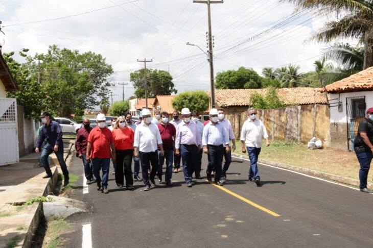 rua alecrim 13 Governador inaugura obras de mobilidade e visita reforma de escola em Campo Maior